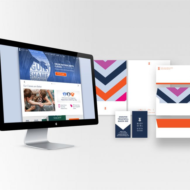 Busy Girl Website & Branding