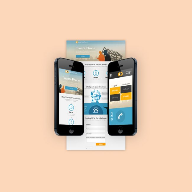Puente Phone Website + App